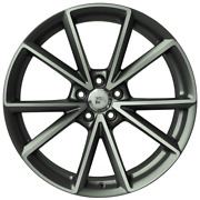 4x 20 Inch X9 Aiace Wheels Set - Fits Audi A5 S5 Rs4 Rs5 - Oem Compatible- Italy