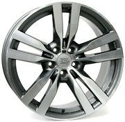 20 Inch Widepack Pandora Wheels Set - Bmw X5 X6 M Power - Oem Compatible - Italy