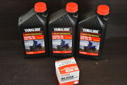 Yamaha Yamalube Oil Changing Kit W/oil Filter And Gaskets 5w-30 56h-13440-20-00