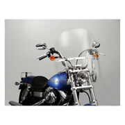 N.cycles Switchblade Chopped Windshield Clear For Harley-davidson Fxd, Fxbb