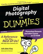 Digital Photography For Dummies For Dummies Computers By Ju .9780764516641