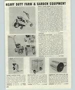 1956 Paper Ad Trams 24 Riding Lawn Tractor Mower George Sickle Bar Lawn Mower