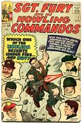 Sgt Fury And His Howling Commandos-12-1964-marvel-kirby Art-wwii-vg