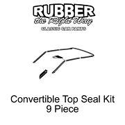 1966 Ford Fairlane Convertible Top Seal Kit - 9 Piece