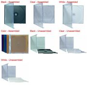 Standard Cd Jewel Case With Tray 10.4mm Lot