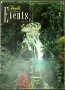1951 Chrysler Events Magazine July Issue Imperial Hydraguide Plymouth Belvedere