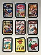 Wacky Packages All New Series 11 Topps/2013 Rude Foods Chase Card Set 9