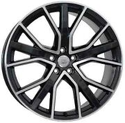 21 Inch X8.5 Alicudi Wheels Set Audi A5 S5 A6 S6 A7 S7 A8 S8 - Oem Compat- Italy
