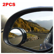 2x Stick-on Round Blind Spot Mirror Round For Van Car Bikes Fit Acura Honda Ford