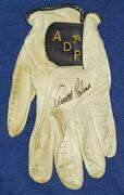 Arnold Palmer Signed Personal Tournament Game Used Worn Adp Golf Glove Auto Jsa