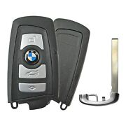 Oem Bmw Proximity Smart Keyless Remote With Uncut Insert Blade For Kr55wk49663