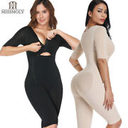 Fajas Colombianas Full Body Arm Shaper Post-surgery Body Suit Powernet Girdle Us
