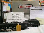 Williams Scale 40201 New York Central Die Cast Hudson Steam Locomotive And Tender