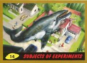 Mars Attacks The Revenge Gold [2] Base Card 14 Subjects Of Experiments