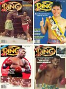 Vintage Boxing Fight 1991 Ring Magazine Complete Year Mike Tyson Muhammad Ali