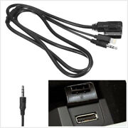 1.2m Car Suv 8pin Mmi Music Interface Aux Cable Cord Charging For Mercedes-benz