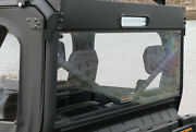 Rear Windshield For Battle Armor Roof For 16-19 Can Am Defender 500/800/1000