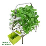 88 Sites Hydroponic Site Grow Kit Stainless Steel Holder Garden Growing System