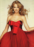 Notte By Marchesa Red Bow Chiffon Dress Maxi Gown 4 Excellent