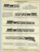1927 Paper Ad Overland Flyer Toy Train Railroad Ives Mechanical Outfit Set