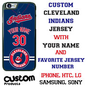 Cleveland Indians Phone Case Cover Fits Iphone Samsung Lg Moto Etc Nameandnumber