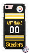 Pittsburgh Steelers Jersey Phone Case Cover Custom Fits Iphone Samsung Etc