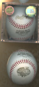 Rare 2003 Sealed Rawlins World Series Baseball Gold Lettering