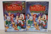 Mickeys Magical Christmas Snowed In At The House Of Mouse Dvd 2001 Rare New