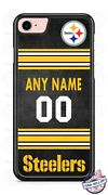 Pittsburgh Steelers Phone Case Cover With Nameand For Iphone Samsung Lg Etc