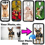 Customized Photo Phone Case Cover Fits Samsung S8 Plus S8 S7 S6 Edge Note Active