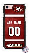 San Francisco 49ers Jersey Phone Case Cover For Iphone Samsung Lg Nameand.