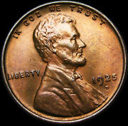 1925-d Lincoln Cent Wheat Penny ---- Ms-63 Pcgs Just Slabbed ----  255
