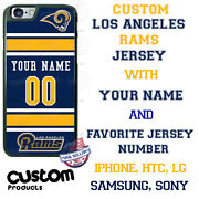 Los Angeles Rams Phone Case Cover Custom With Nameand For Iphone Samsung Etc