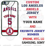 Los Angeles Angels Phone Case Cover With Nameandno. For Iphone Samsung Lg Motoetc