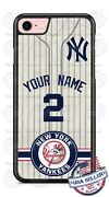New York Yankees Phone Case Cover For Iphone Samsung Lg Htc Etc With Name And No.