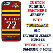 Customize Florida Panthers Phone Case Cover Fits Iphone Samsung Htc Lg Etc