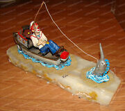 Ron Lee World Of Clowns Catch Of The Day 441 Uss Teutonic Tug Boat Sailfish