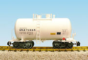 Usa Trains G Scale Beer Can Tank Car R15203 Utlx - White