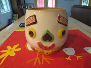 Napco Two Faced Cookie Jar No Lid