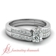 .75 Ct Cushion Very Good Cut Diamond Engagement Rings And Bands For Women Vs1