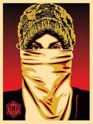 Obey Giant Shepard Fairey Artist Proof Screen Print Occupy Protester