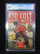 Kid Colt Outlaw 1  Cgc 2.5  Syd Shores Cover And Art
