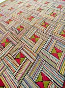 Large Fabulous Antique American Hooked Rug