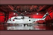 Poster Many Sizes Marine Sikorsky Ch-53k Ch-53 King Stallion Helicopter Roll O