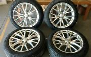 21 Used Oem Svr Wheel Tire Package For Range Rover Sport Supercharged 2016-19