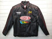 Very Rare Vintage Chase Authentics Dupont Racing Leather Jacket 24