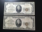 National Bank Notes Fort Collins And Fort Morgan