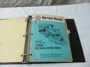 Ih Vintage Service Manuals Gss 1420 1421 1422 Cotton Picker 3820a Tractor