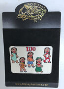 Lilo And Stitch Disney Auctions Le 100 2 X 3 Pin Exclusive Limited Edition