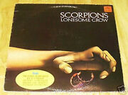 Scorpions Import Lonesome Crow Mip-1-9320 Excellent 1972 Lp 12 Free Us Shipping